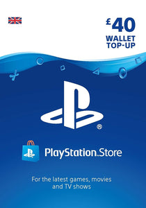 PlayStation Network Card - UK account