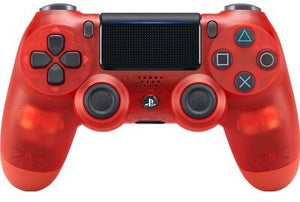 Sony Dualshock 4 Wireless Controller for PlayStation 4 -  Red CRYSTAL - PlayStation 4