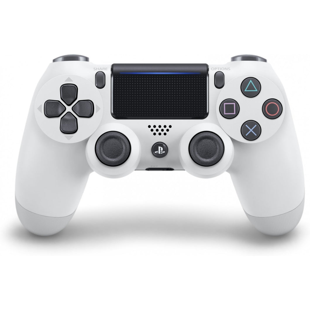 DualShock 4 Wireless Controller for PlayStation 4 - Glacier White - Second Generation
