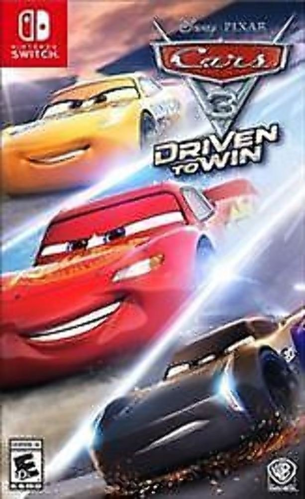 Cars 3 Driven to Win - Nintendo Switch