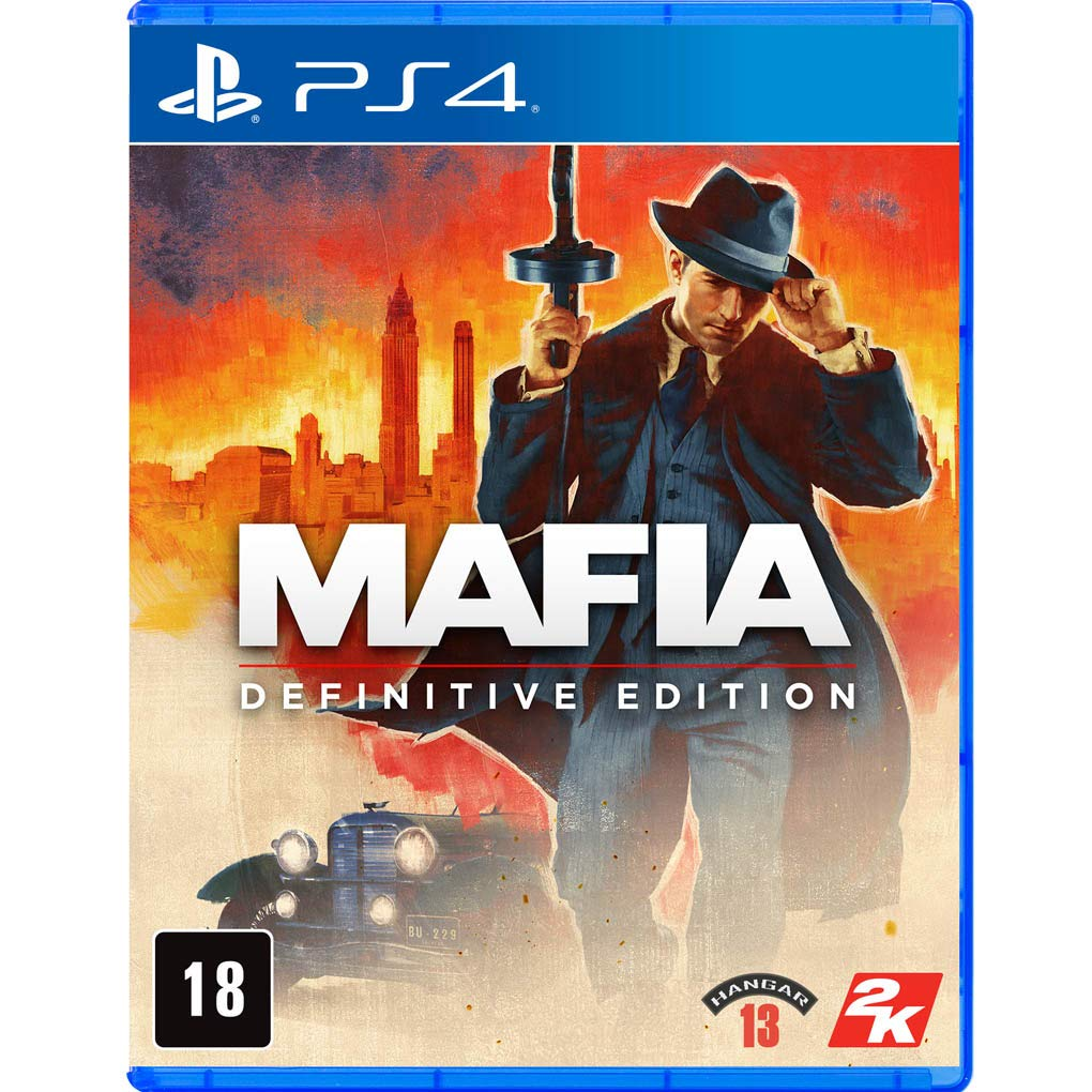 Mafia Definitive Edition - PlayStation 4