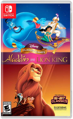 Disney Classic Games: Aladdin and the Lion King - Nintendo Switch