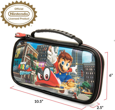 NINTENDO SWITCH DELUXE MARIO ODYSSEY TRAVEL CASE