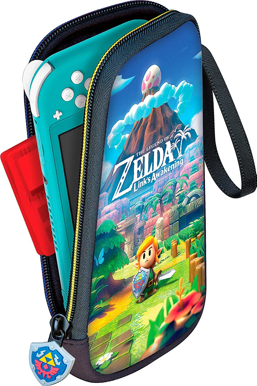 The Legend of Zelda Link's Awakening Travel Case for Nintendo Switch Lite