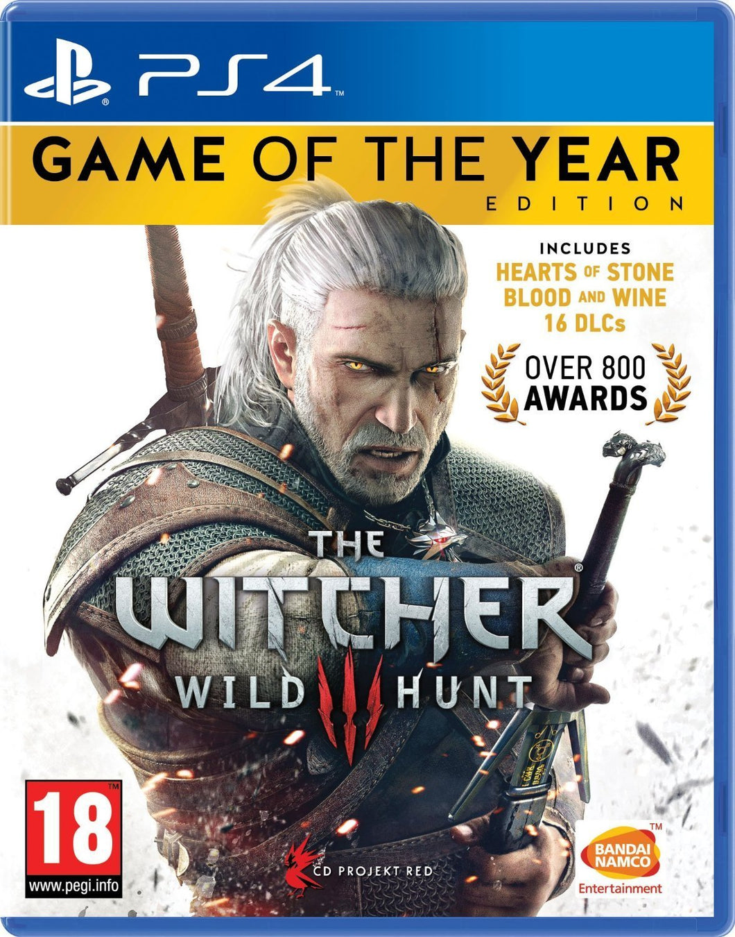 The Witcher 3: Wild Hunt - Game of the Year Edition - PlayStation 4