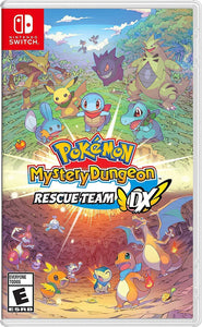 Pokemon Mystery Dungeon Rescue Team Dx - Nintendo Switch