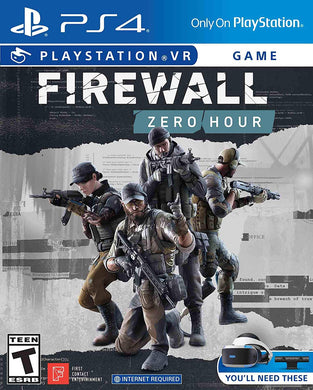 PSVR Firewall Zero Hour - PlayStation 4