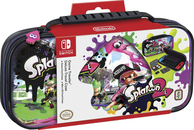 NINTENDO SWITCH DELUXE SPLATOON 2 TRAVEL CASE
