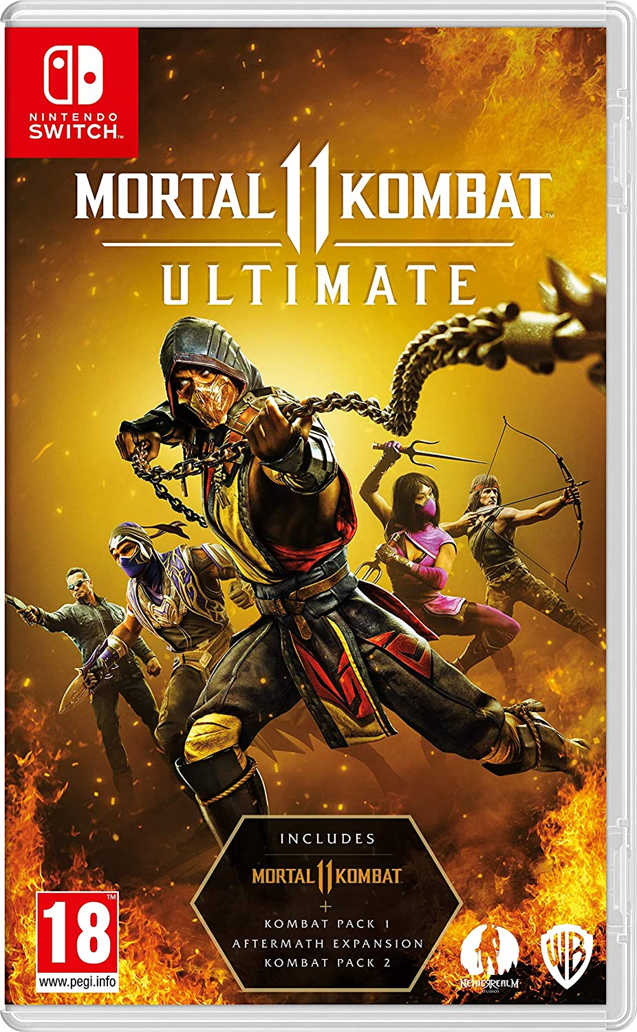 Mortal Kombat 11 Ultimate - Nintendo Switch [Download Code Only No game card is included]