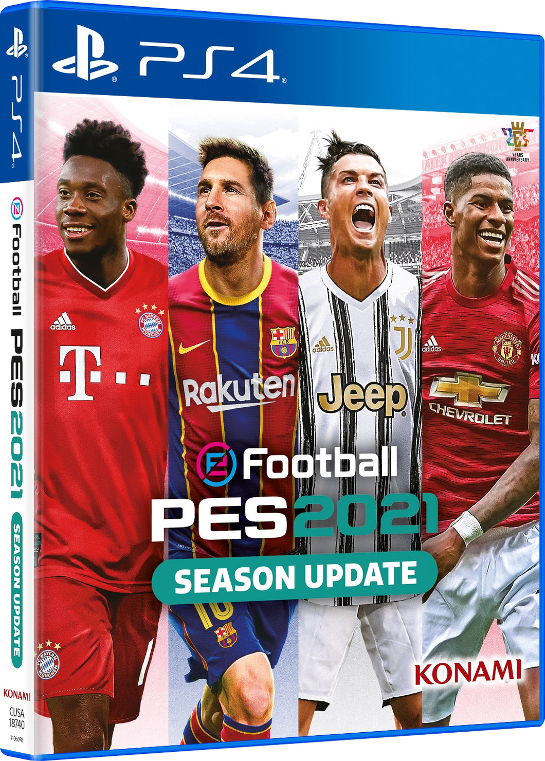 eFootball PES 2021 - Arabic Edition - Playstation 4
