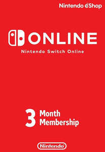 Nintendo Switch Online Membership Card