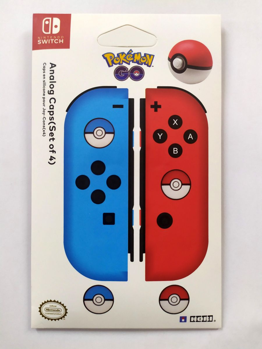 Nintendo Switch Pokemon 4 Analog Caps Officially Licensed By Nintendo by Hori