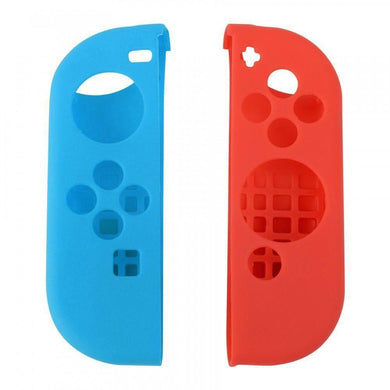 Blue and Red for Nintendo Switch Anti-Slip Soft Silicone Cover Case Skins for Joy-Con Controller
