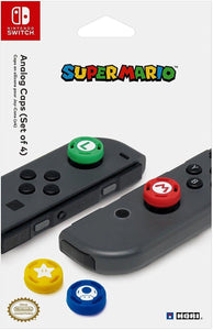 Nintendo Switch-Super Mario 4 Analog Caps Officially Licensed By Nintendo by Hori 2017