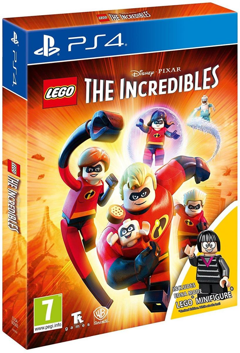 LEGO The Incredibles Mini Figure Edition - PlayStation 4
