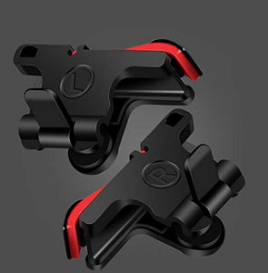 PUBG Trigger Mobile Game Fire Button Aim Key Smart phone Gaming Trigger L1 R1 Shooter Controller - iPhone