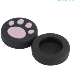 Thumb Grip Set Joystick Cap for Nintendo Switch Joy-Con - Cat Foot Print Pattern