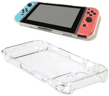 Case for Nintendo Switch, Ergonomic Accessories Skins Soft Protective TPU Cover Case Crystal Clear Shock