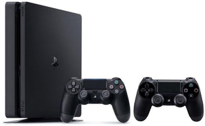 Sony PlayStation 4 Slim 500 GB with 2 Dual Shock Wireless Controllers