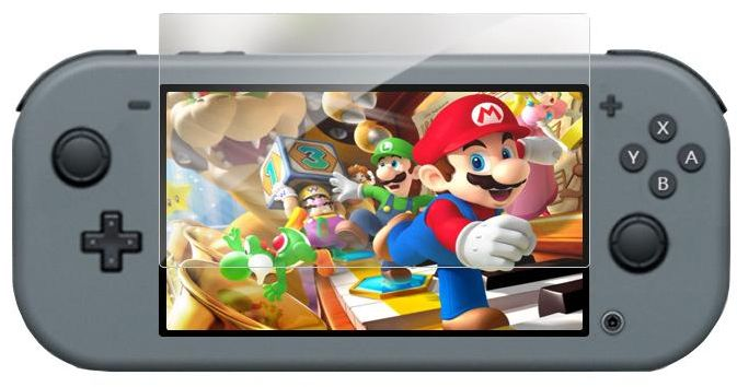 Anti-Scratch Full HD Ultra Clear PET Protective Film for Nintendo Switch Lite NS Console Anti-blue Light Screen Protector Cover