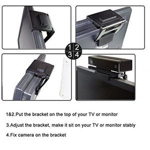 TV Holder Bracket Stand Mounting Clip Adjustable For PlayStation 4 PS4 Camera