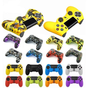 Silicon Rubber Case Skin Cover for PlayStation 4 Controller - Collection