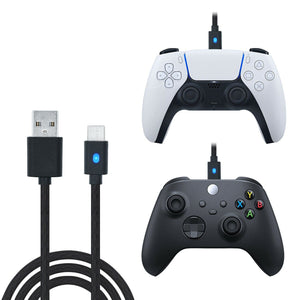 Dobe 3M Type-C USB Charging Cable for PS5, Nintendo Switch, and Xbox