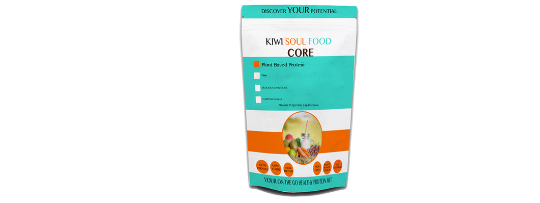 Plant Based CORE Protein Powder- 500gm FREE SHIPPING