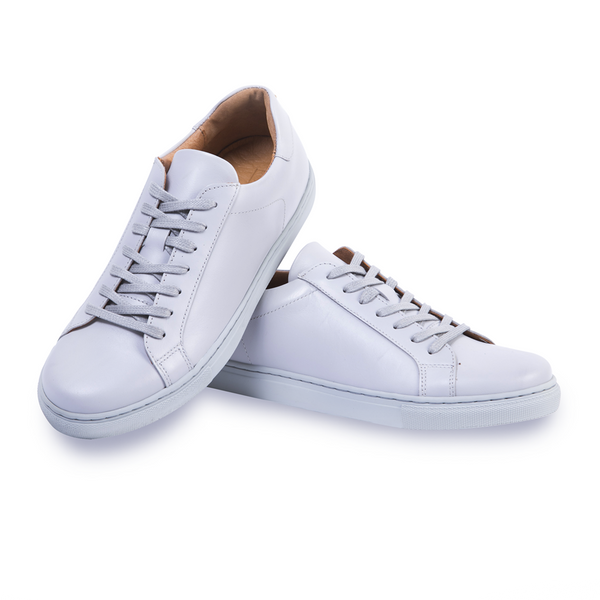 LOW-TOP GREY WOMEN Women Sneakers by Romero McPaul