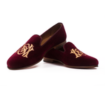 PRINCE MCPAUL BURGUNDY Men Slippers by Romero McPaul