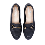Portofino Nero Women Italian Loafers Women by Romero McPaul