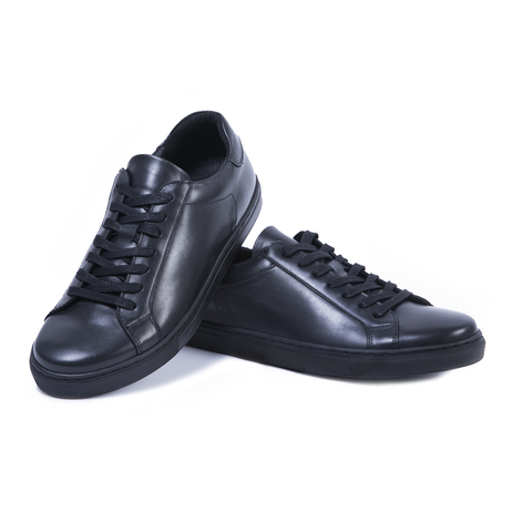 LOW-TOP BLACK Sneakers 2018 by Romero McPaul