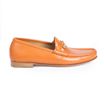 Amalfi Mandarino Women Italian Loafers Women by Romero McPaul