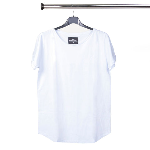 WHITE TEE TEES by Romero McPaul