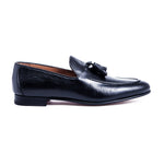 WINSTON BLACK Leather Shoes by Romero McPaul