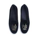 R+M SLIP-ON SNEAKER BLACK Sneakers 2018 by Romero McPaul
