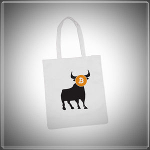 Bull & Bear Tote (Choose Your Design).