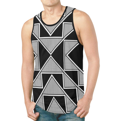 Okhuwa Sawin (Terraced Cloud) Men's Tank Top