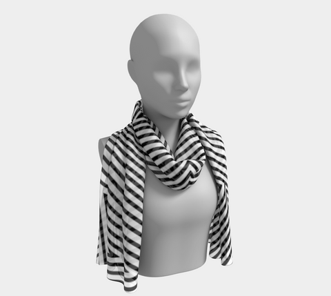 P'okanu (Sky Trail) Long Scarf