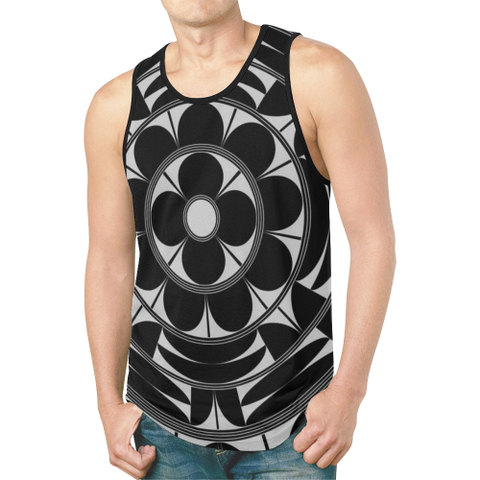 Povi Kaa (Flower Leaf) (B) Men's Tank Top