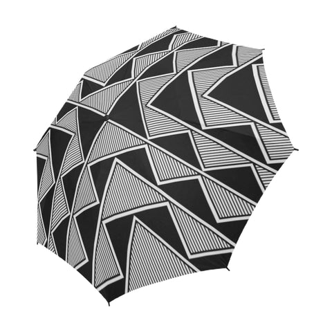 Okhuwa Sawin (Terraced Cloud)  Semi-Automatic Foldable Umbrella