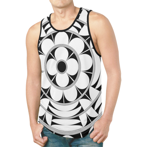 Povi Kaa (Flower Leaf) (W) Men's Tank Top