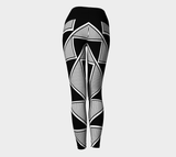 Okhuwa Sawin (Terraced Cloud) Yoga Leggings