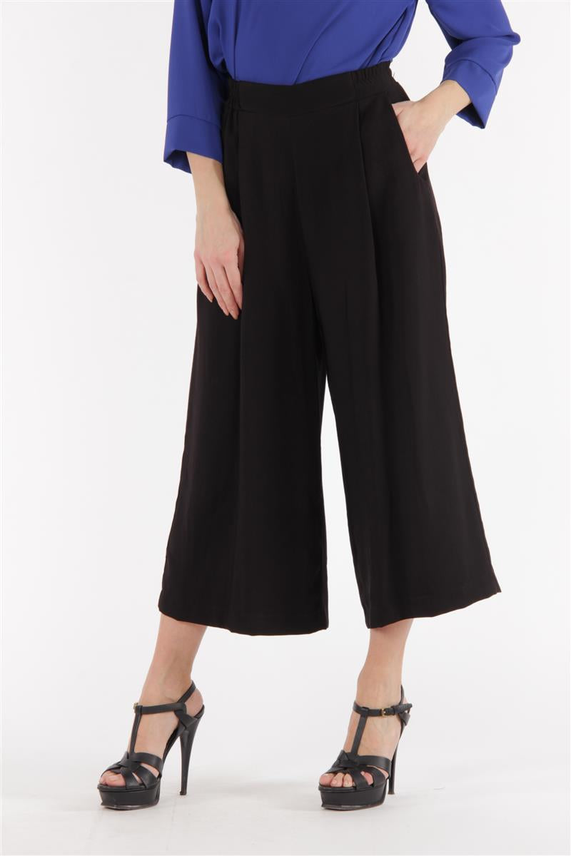 Dark Navy Culotte