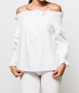 Leigh Off-The-Shoulder Top