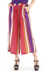 Multi Stripe Culotte