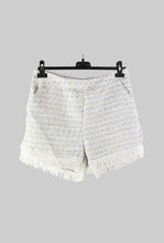 White Tweed Short