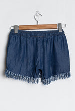 Fringe Denim Short
