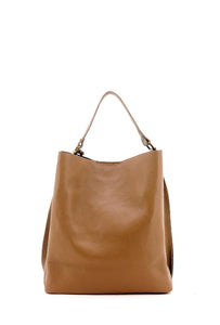 Oversized Taupe Hobo