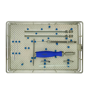 2.0/2.4 LeiLOX Instruments Tray (Straight/Reconstruction)